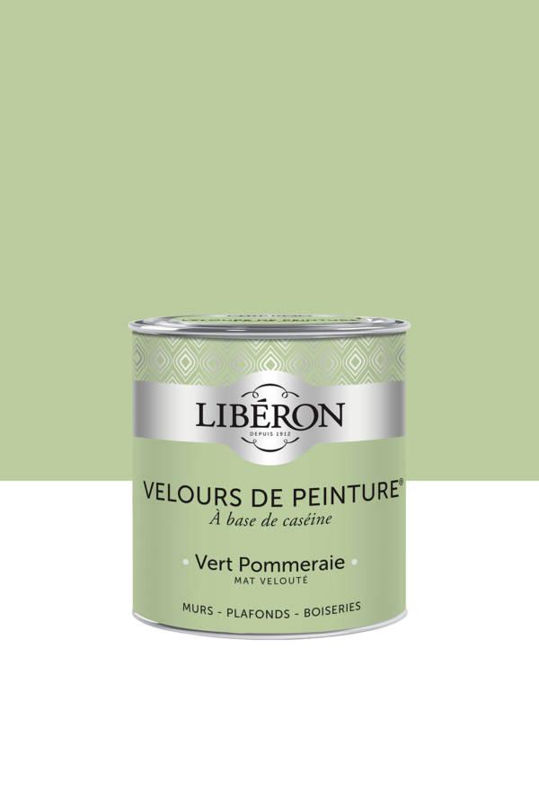 Peinture-Velours-0,5L-Vert-Pommeraie
