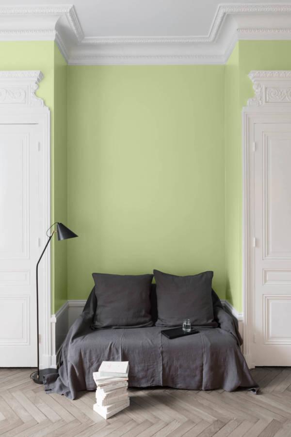 peinture-murale-Vert-Pommeraie
