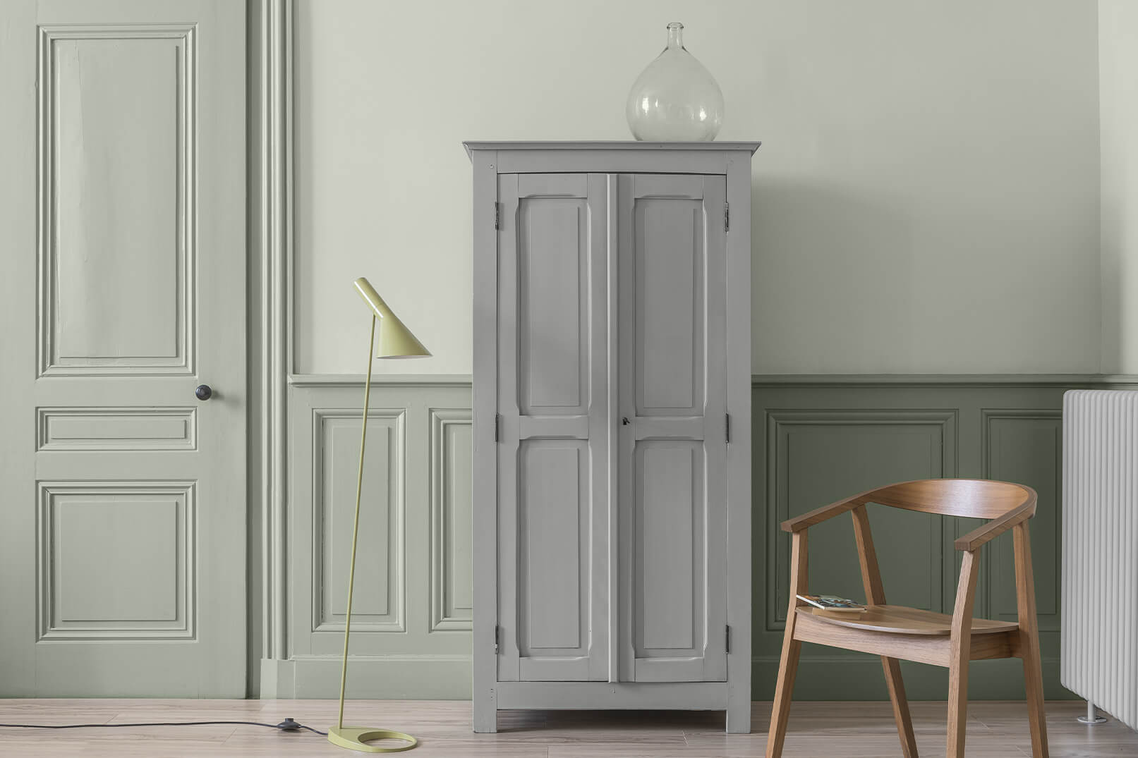 peinture-caseine-liberon-blanc-edelweiss-vert-sauge-armoire-parisienne